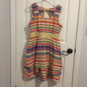 Brooklyn Industries Cotton Bow-Back Dress
